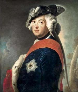King Frederick II the Great